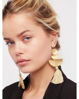 Bryce Canyon Tassel Earrings