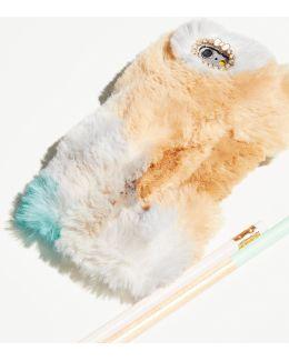 Colorful Faux Fur Iphone Case