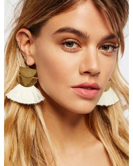Diamond Canyon Tassel Earring