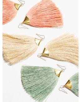 Dusting Tassel Earrings