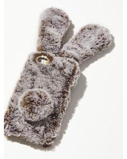 Faux Fur Bunny Case