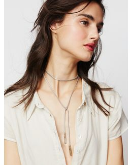 Flawed Leather Wrap Bolo