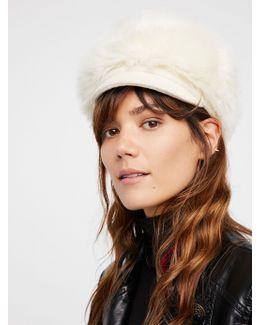 Get A Clue Faux Fur Cap