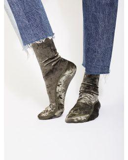 Go Go Velvet Sock