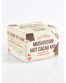 Hot Cacao With Cordyceps