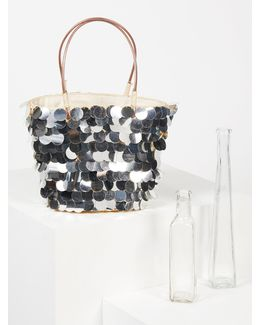 Isle Of Paradise Straw Tote