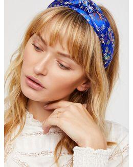 Knotted Brocade Headband