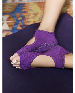Lace Namaste Yoga Sock