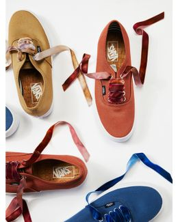 Laced In Velvet Sneaker