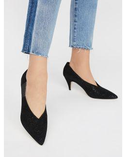 Leather Florence Heel