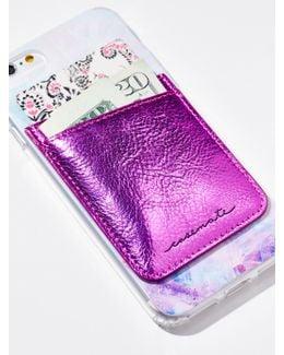 Leather Iphone Pocket