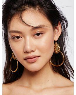 Lion's Den Knocker Earrings