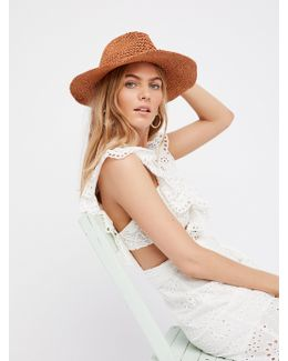 Mellow Mood Packable Straw Hat