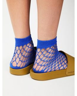Mood Fishnet Anklet