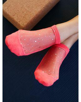 Moon Dust Yoga Sock
