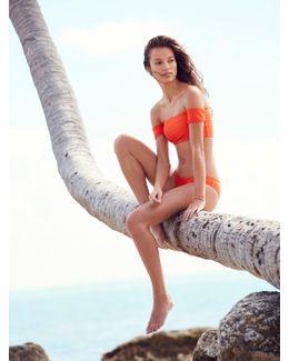 Nikki Bikini Bottom Amelia Bikini Top Rose Solid Bikini Top