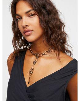 Odette Charm Chain Collar