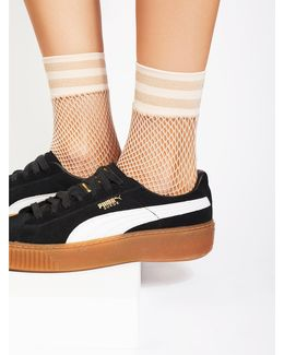 Riot Sport Fishnet Sock