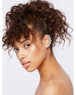 Shape Crystal Ear Cuff