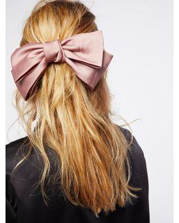 Silk Bow Barrette