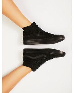Sk8 Slim Glitter High Top Sneakers