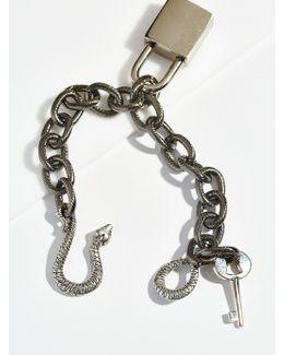 Snake Lock Chain Bracelet