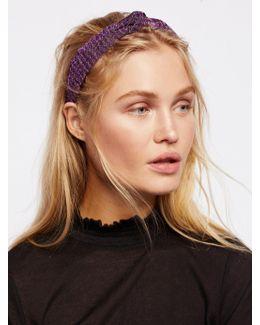 Sparkly Knot Headband