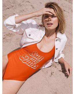Sun My Buns One Piece Swimsuit