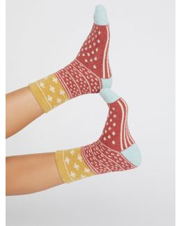 Sunday's Slipper Sock
