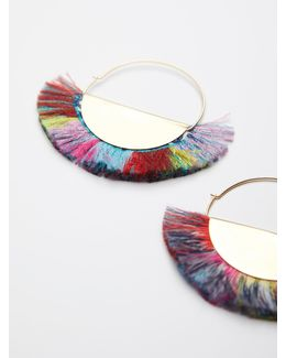 Super Fan Flare Hoops