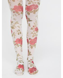 Tainted Love Printed Tights