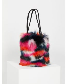 Talulah Faux Fur Bucket