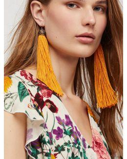 Two To Tango Tassel Earrings