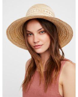 Wayuu Straw Hat