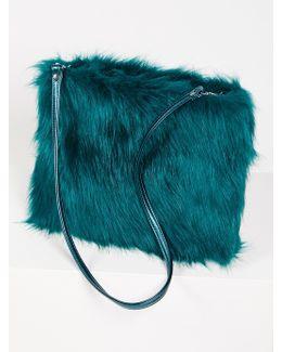 Ziggy Faux Fur Clutch