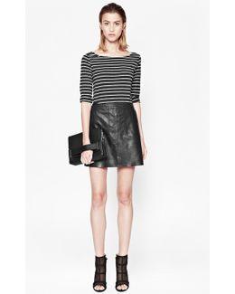 Jetson Leather Skirt