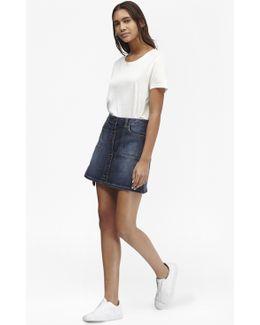 Tiffany Denim Mini Skirt