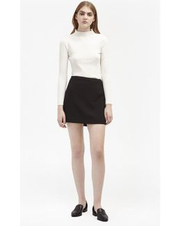 Sundae Suiting Mini Skirt