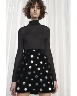 Mary Mirrors Mini Skirt