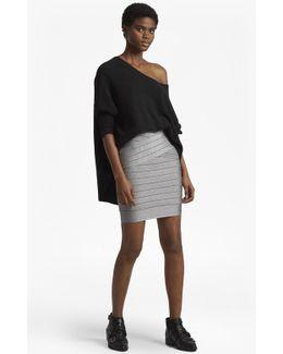 Rosa Spotlight Knit Pencil Skirt