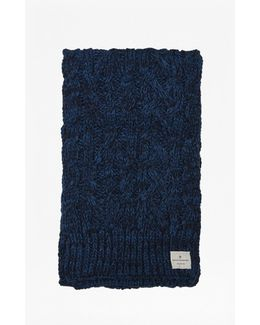 Chad Cable Knit Scarf