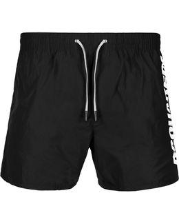 Logo Beach Shorts Black