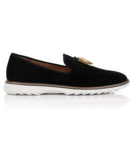 Stew Loafers Black/gold