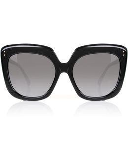 Lfl556 Sunglasses Black/gold