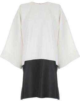 Lulu Midi Dress Cream/black