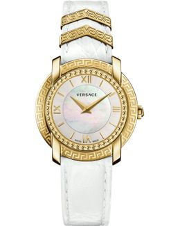 Dv25 Watch White/gold