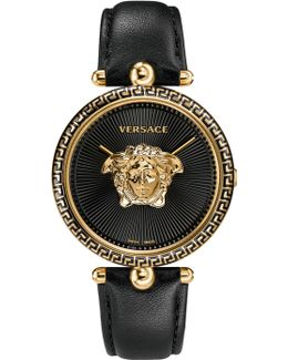 Unisex Palazzo Medusa Watch Black