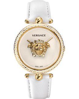 Unisex Palazzo Medusa Watch White