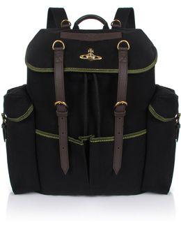 Army Rucksack Black