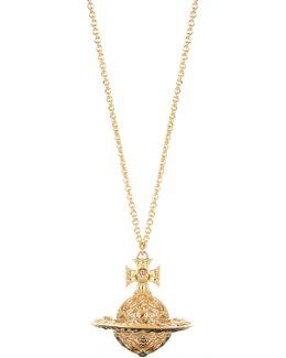 Dolores Orb Pendant Gold